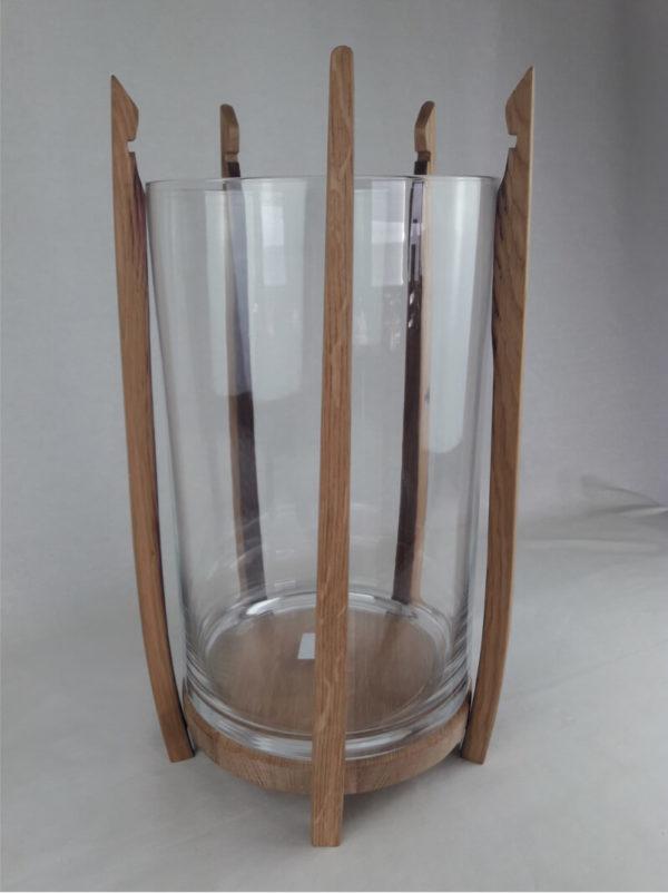 Vase en douelle (réalisation Douelle Life)