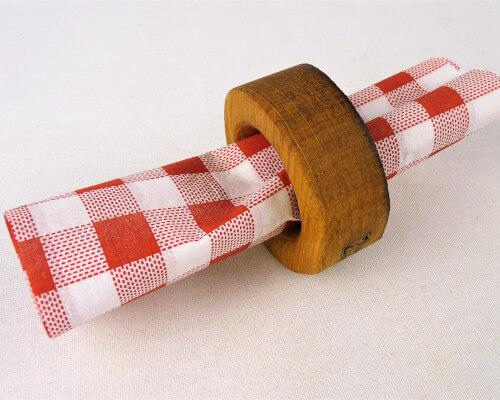 table-rond serviette