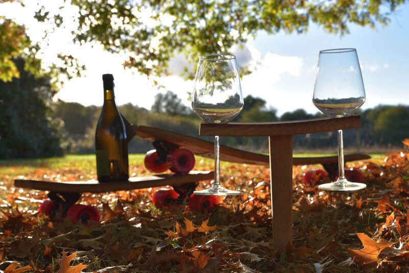 Fabriquant de meuble artisanal en Gironde, Douelle Life est une manufacture artisanale | Bains nordiques, étagères, foudres, chaises, ...
